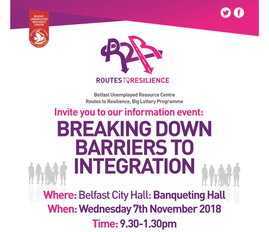 Breaking Down Barriers to Integration Event – BURC